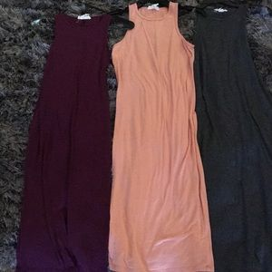 3 long summer dresses